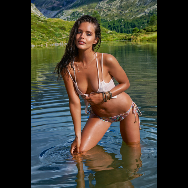Emily DiDonato in Switzerland, Swimsuit 2014 :: Yu Tsai/SI