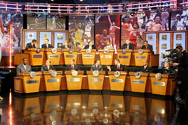 2009 NBA Draft Lottery :: Getty Images