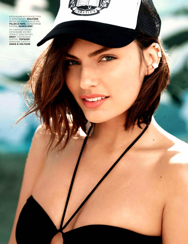 Alyssa Miller :: David Mushegain for Vogue Russia, 2014