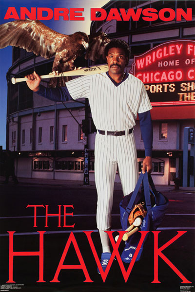 Andre Dawson :: Courtesy of the Costacos Brothers