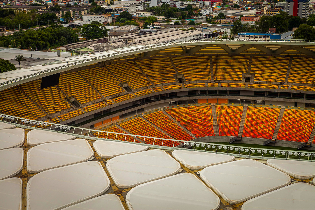 Arena Amazonia (photo courtesy Brazilian Federal Government).