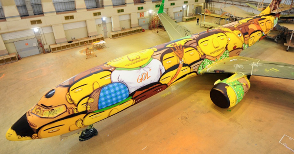 Brazil's World Cup Plane :: Junior Lago/UOL