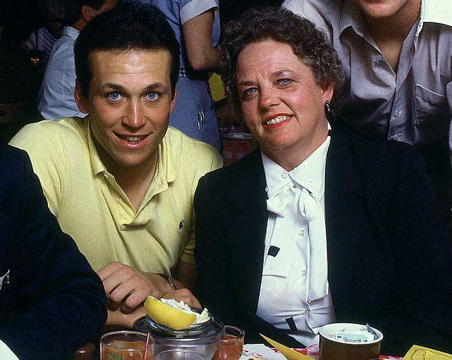 Cal Ripken Jr. and his Mother :: Heinz Kluetmeier/SI