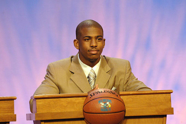 Chris Paul, 2006 :: Jennifer Pottheiser/NBAE via Getty Images