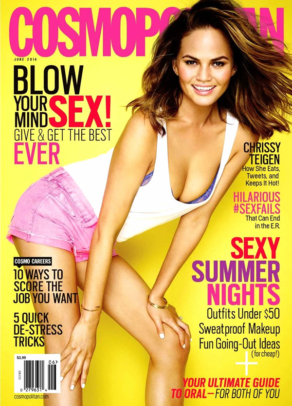 Chrissy Teigen :: Eric Ray Davidson for Cosmo, June 2014