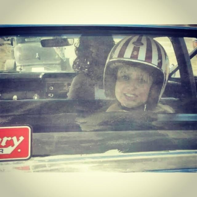 Genevieve Morton (@genevievemorton) does something curiously Evel Knievel-esque