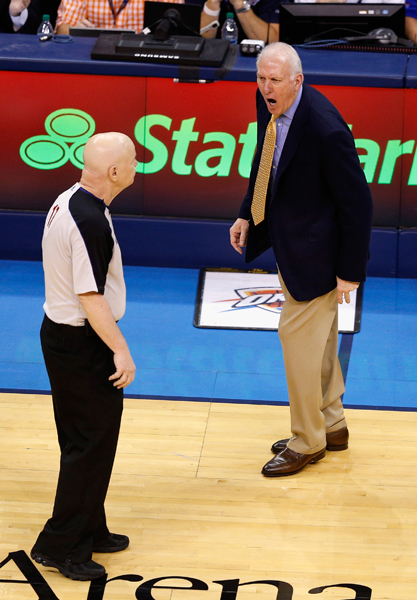 Gregg Popovich :: Getty Images