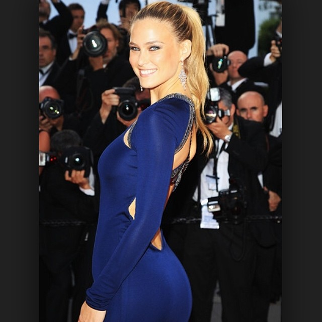 @barrefaeli prepares us for this year's Cannes looks with this throwback from last year's