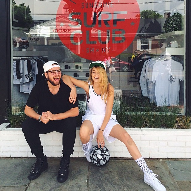 Gigi Hadid (@gigihadid) shows love for a friend-owned surfshop