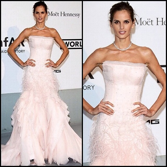 @iza_goulart was another fairy princess of the amfAR Gala