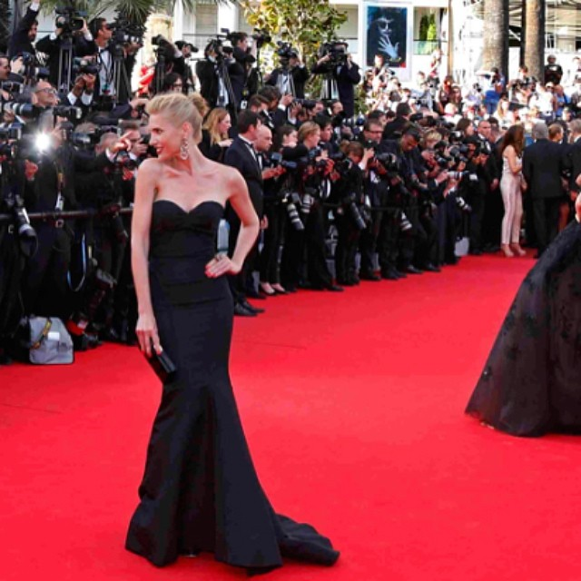 @juditmasco turned heads at Cannes