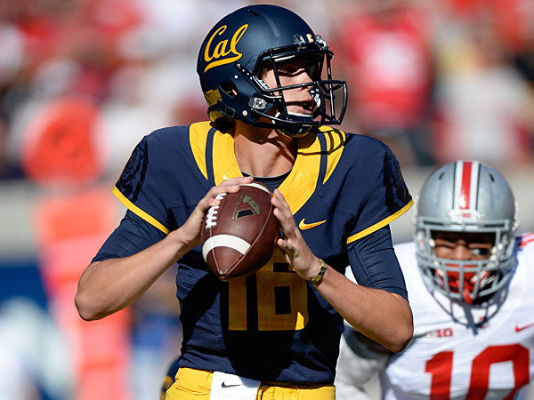 Quarterback Jared Goff will look to help Cal bounce back from a 1-11 campaign.