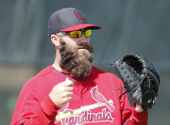 Jason Motte's beard on March 13 was so luscious that I'm 90% sure he shampoos it with Herbal Essences. Do you know how many women would kill for that kind of body??