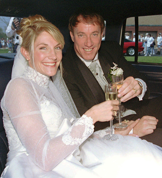 Jim Kelly and Jill Waggoner :: AP