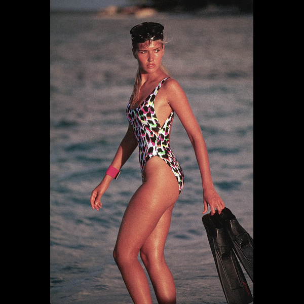 Judit Masco in St. Vincent, 1990 :: Robert Huntzinger/SI