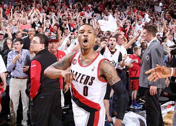 Houston Rockets (4) - (5) Portland TrailBlazers [0-0] Lillard