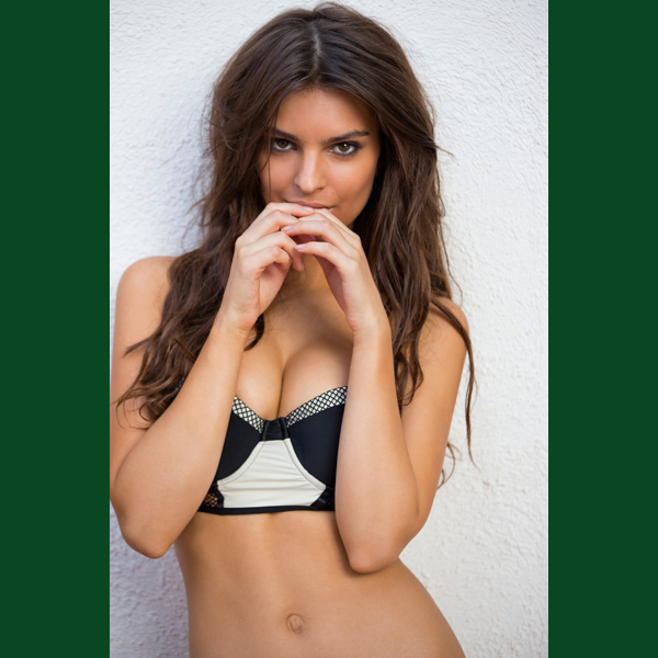 Emily Ratajkowski in St. Lucia, Swimsuit 2014 :: Walter Iooss Jr./SI