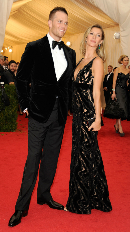 Tom Brady & Gisele Bundchen (Rabbani and Solimene/Getty Images)