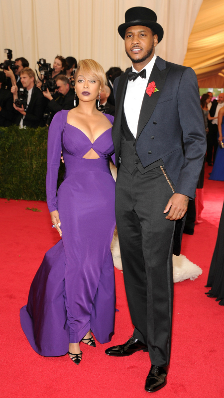 Carmelo & LaLa Anthony (Kevin Mazur/WireImage/Getty Images)