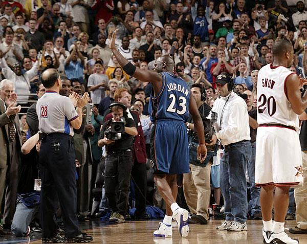 Michael Jordan :: Manny Millan/SI