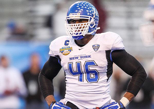 innovative design 60322 4a5c9 2014 NFL draft: Buffalo linebacker Khalil Mack's mom ...