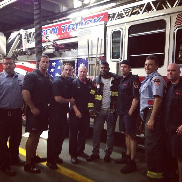 Gracias por la invitación #bomberos #911