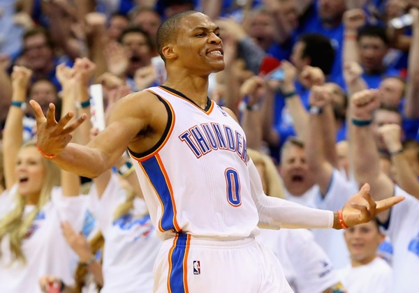 Russell Westbrook :: Getty Images