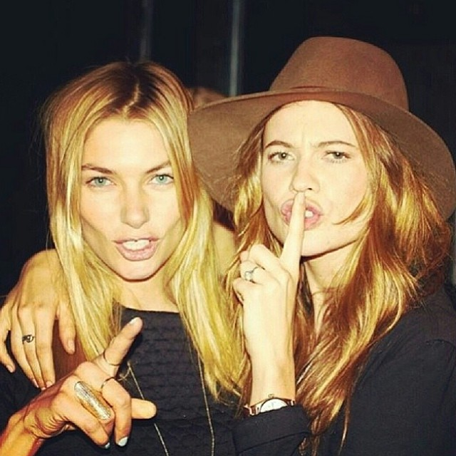 @1jessicahart: Shhhhhhhh at @wattsupphoto 's Rosé dinner last night with @behatiiprinslooand @chantelle_waters .. My lady Conda right makes the perfect cameo once again.. @venyxworld
