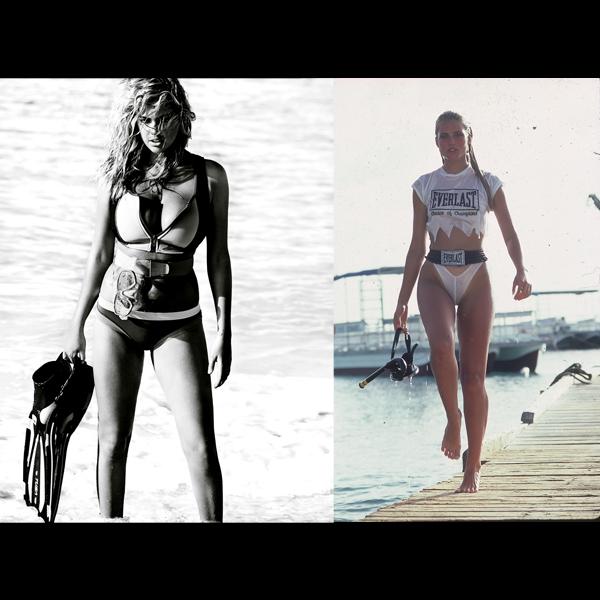 Kate | Kim Alexis in Aruba, 1984 :: Paolo Curto/SI