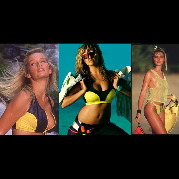 Estelle Lefebure in Thailand, 1988 :: Marc Hispard/SI   Kate   Judit Masco in St. Vincent, 1990 :: Robert Huntzinger/SI