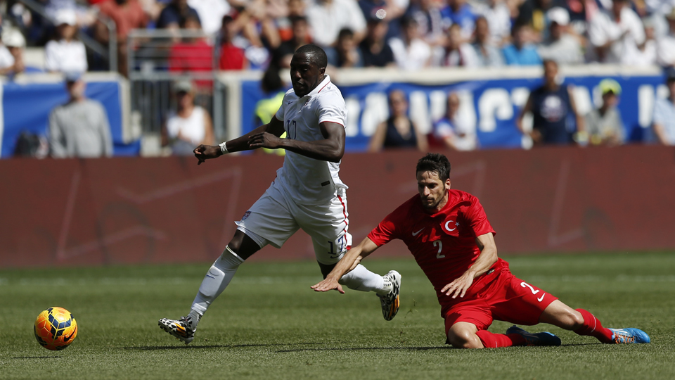 Despite not scoring yet again, Jozy Altidore drew high praise after the USA's 2-1 win over Turkey on Sunday.