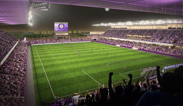 Orlando City's planned downtown stadium