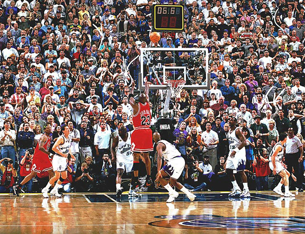 Michael Jordan, 1998 :: Getty Images
