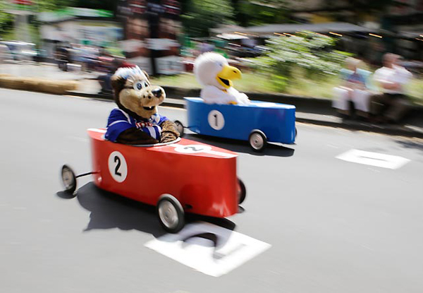 The 25th annual Berlin Soapbox Derby. (Getty Images)