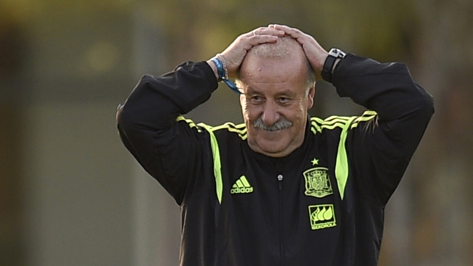 Spain manager Vicente del Bosque is mulling multiple lineup changes after his side was routed 5-1 by the Netherlands in their World Cup opener.