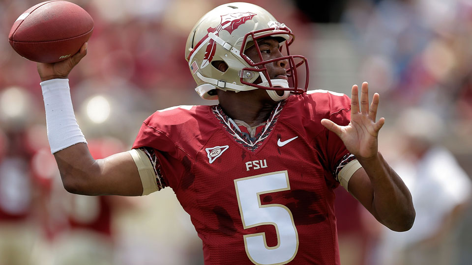 Jameis Winston will try to lead the defending national champs to another title in 2014.