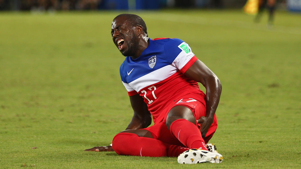 Jozy Altidore may still be able to return during the World Cup.