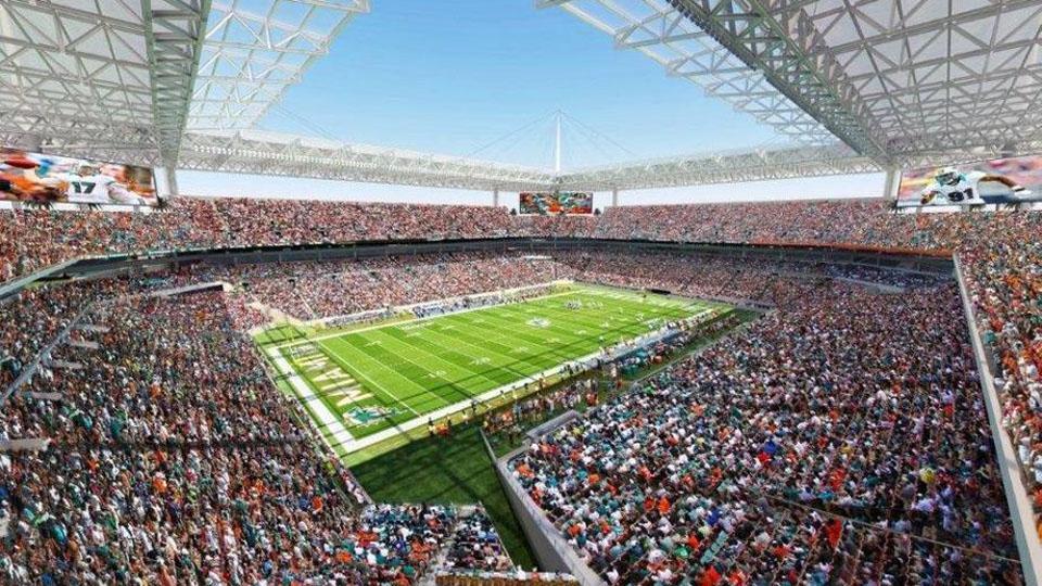 Sun Life Stadium will undergo renovations to attract more major events.