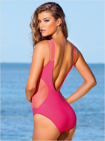 Nina Agdal for Leonisa, Summer 2014