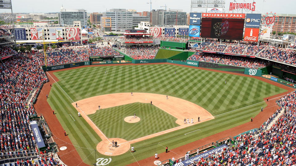 Nationals Park in Washington D.C. could play host to the 2015 Winter Classic.