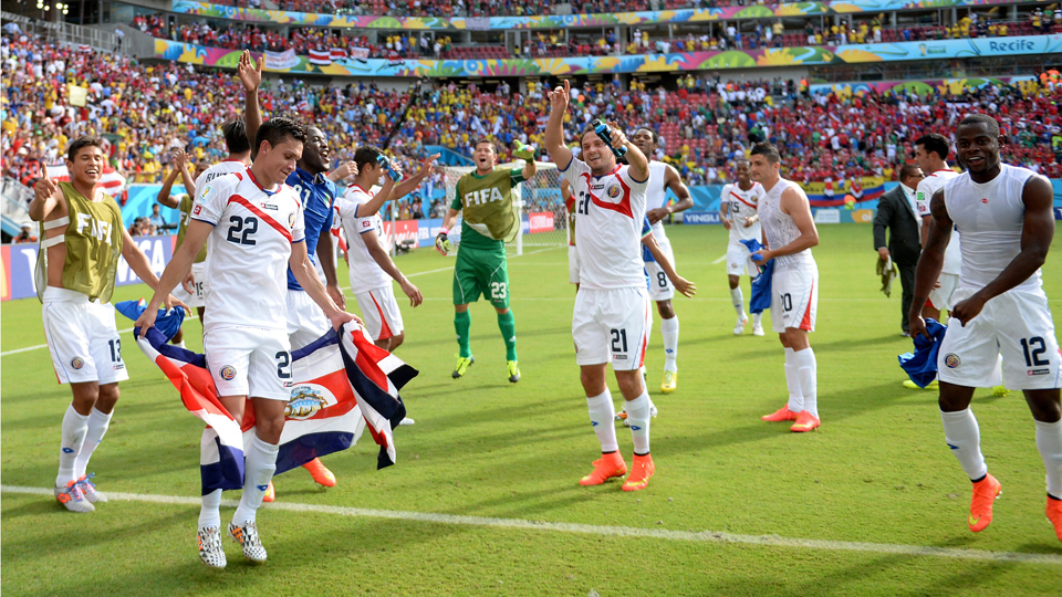 There's plenty for Costa Rica to dance about after stunning Uruguay and Italy to clinch a place in the knockout stage of the World Cup.