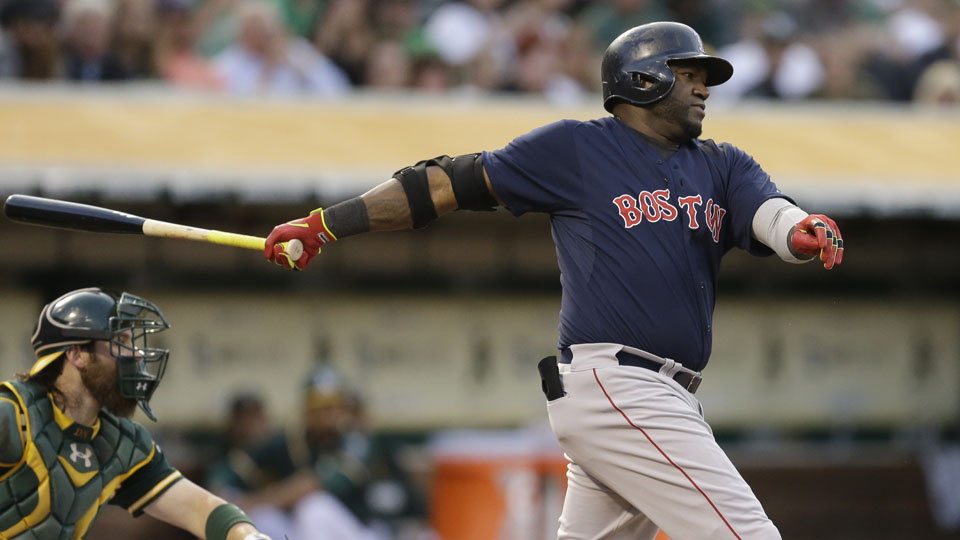 David Ortiz's .245 batting average entering Friday is his lowest since 2009 (.238).