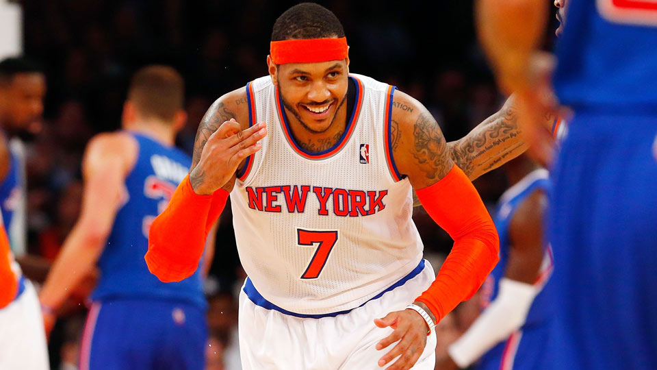 Carmelo Anthony has opted out of the final year of his contract with the Knicks.