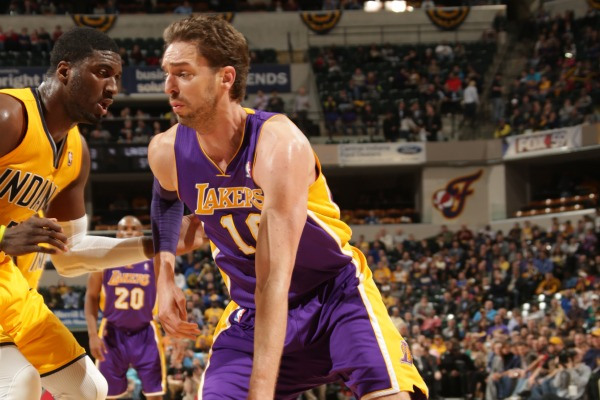 Pau Gasol would give the Mavericks another potent offensive weapon alongside Dirk Nowitzki.