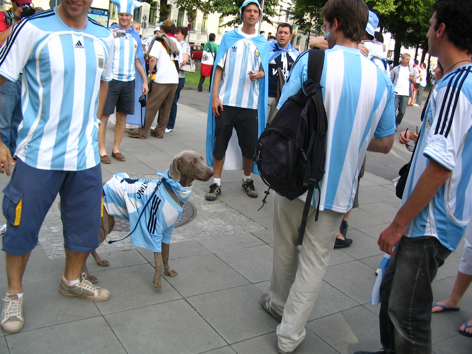 The scene at the 2006 World Cup in Germany