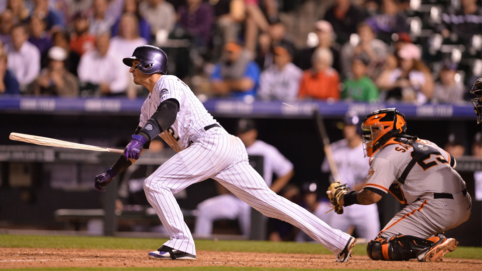 Troy Tulowitzki is on track for his best season yet.