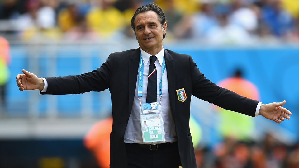 Cesare Prandelli has stepped down as Italy manager in response to the Azzurri's group-stage elimination at the World Cup.