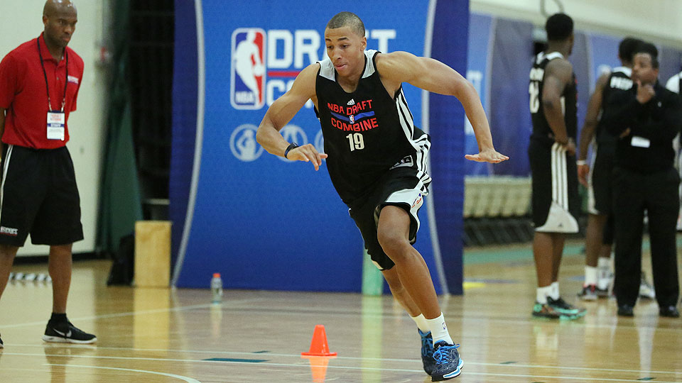 Dante Exum hasn't played 5-on-5 basketball on a big stage in nearly a year, giving teams limited chances to see his burgeoning talent in action.