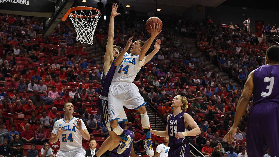 UCLA guard Zach LaVine averaged 9.4 points and 2.5 rebounds coming off the bench for coach Steve Alford last season.