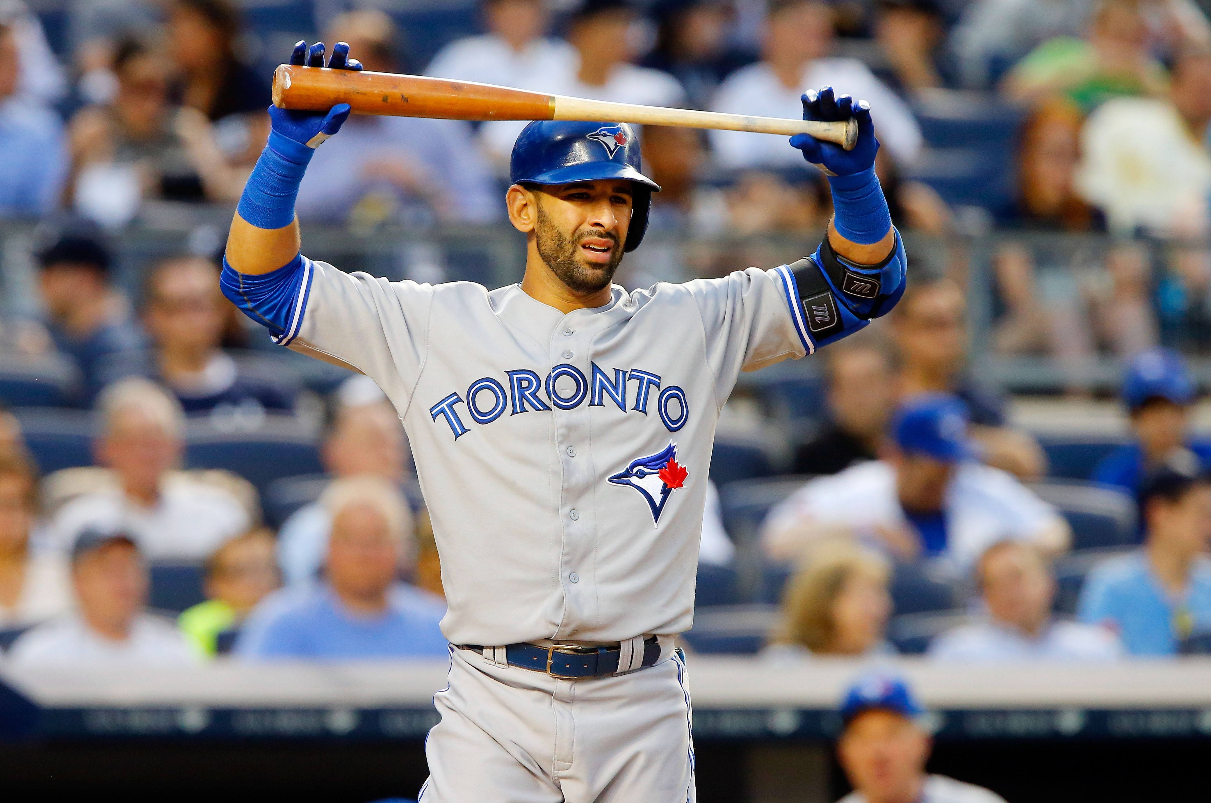 Jose Bautista is leading the MLB in All-Star fan voting this year.